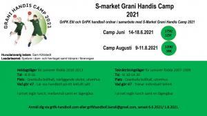 S-Market Grani Handis Camp 2021